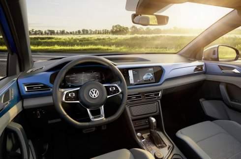 Volkswagen сделал пятиметровый пикап на базе «Тигуана»