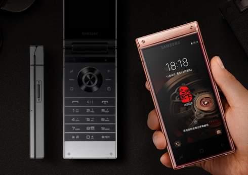 Samsung W2019: смартфон-раскладушка премиум-класса с двойной камерой