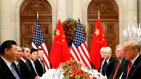 Дональд Трамп и председатель КНР Си Цзиньпин договорились отложить торговую войну