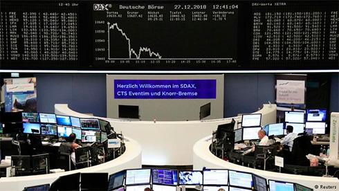 Обвал на биржах планеты предвещает спад мировой экономики