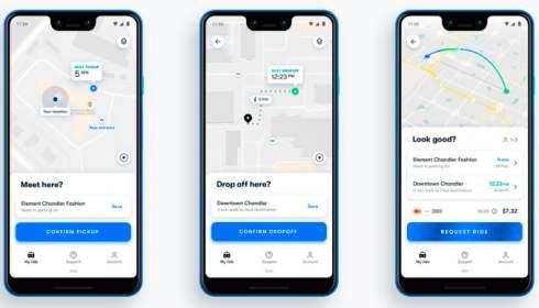 В США запустили первую коммерческую службу беспилотных такси Waymo One