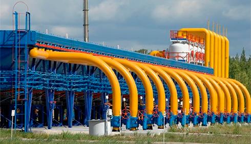 Украина сократила транзит газа порезультатам года