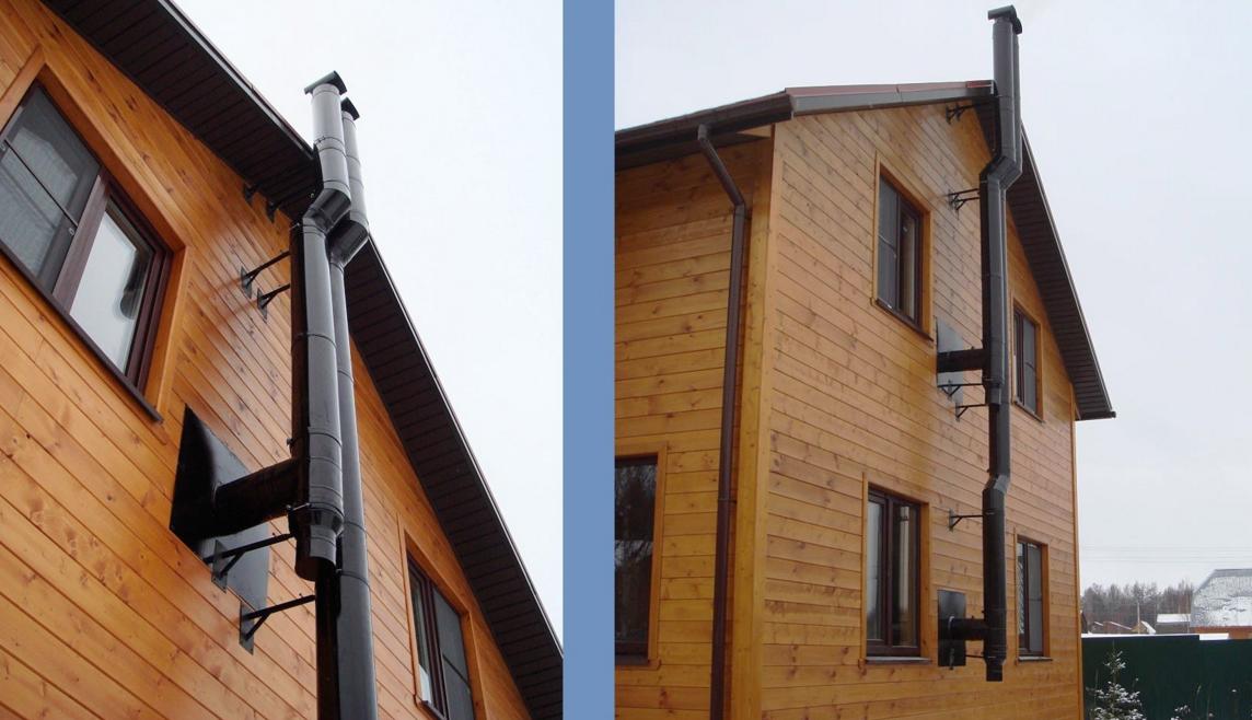 Какой фирмы дымоход выбрать проход трубы дымохода через потолок