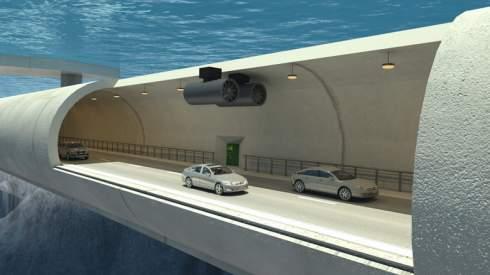 Норвегия рассматривает возможность постройки подводных плавучих туннелей