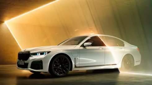 BMW подробно рассказала про обновленную гибридную «семерку»