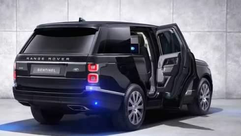 Range Rover Sentinel получил компрессорный V8 и тонну брони