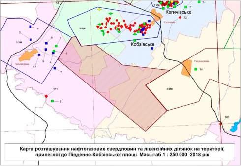 «Укргазвыдобування» купило спецразрешение на Южно-Кобзовскую площадь за 30,95 млн грн