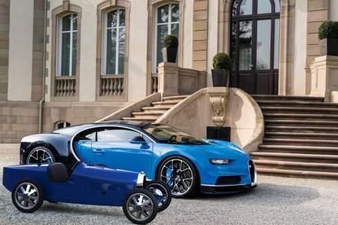 Bugatti Baby II: электромобиль для детей и взрослых за 30 000 евро