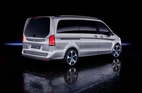 Электроминивэн Mercedes-Benz EQV проедет без подзарядки 400 километров