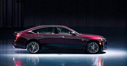 Cadillac представил новый седан CT5