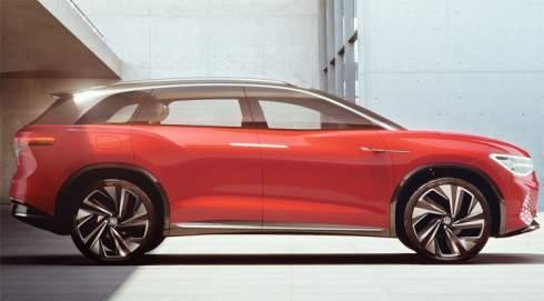 Volkswagen ID. Roomzz: электрический кроссовер с автопилотом четвёртого уровня