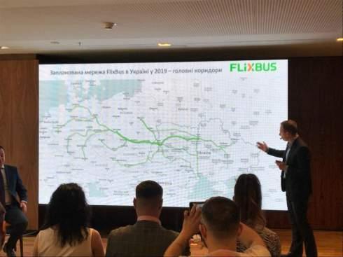 Автобусный лоукостер FlixBus назвал маршруты, которые запустит в Украине