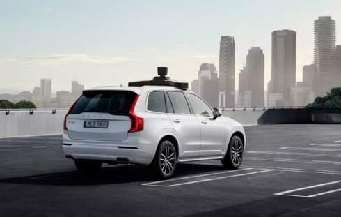 Volvo и Uber построили серийный беспилотник