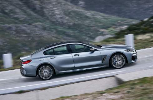 BMW 8-Series обзавелась четырехдверной версией