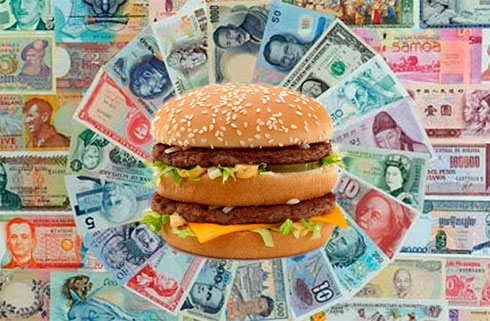 Big Mac index: гривня недооценена более чем на 60%