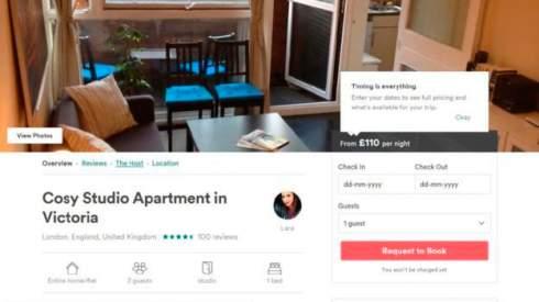 Британец шесть лет сдавал социальное жилье на Airbnb. Теперь он должен властям £100 тыс.