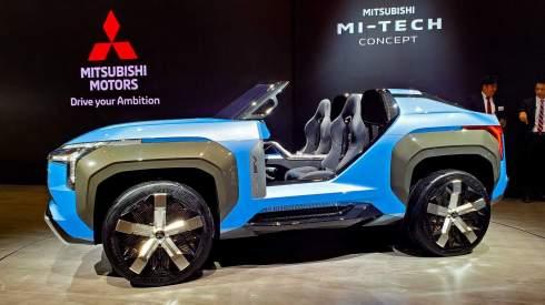 Mitsubishi придумала газотурбинный багги