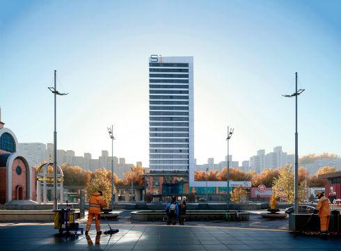 как будет выглядеть апарт-отель Standard One Терминал