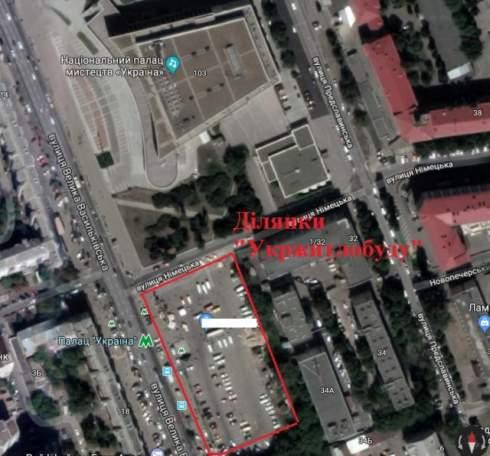 Столар и Исаенко получили разрешение на строительство высотки на месте парковки у «Дворца Украина»
