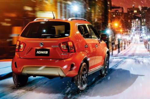 Suzuki рассекретила кросс-версию хэтчбека Ignis