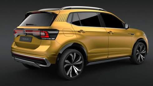 Volkswagen представил маленький кроссовер с 20-сантиметровым клиренсом