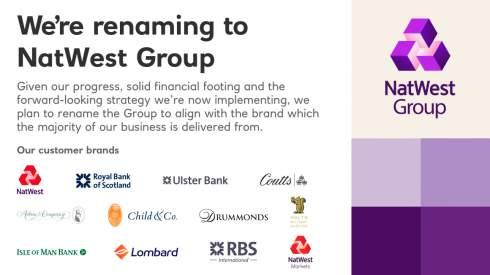 Royal Bank of Scotland сменит название и стратегию