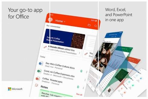 Microsoft Office на Android. Приложение вышло из стадии бета-тестирования