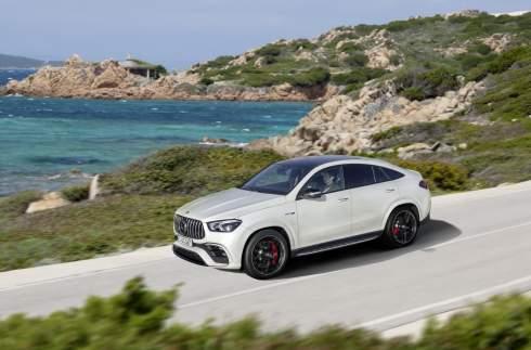 Mercedes-Benz представил самую быструю версию GLE Coupe