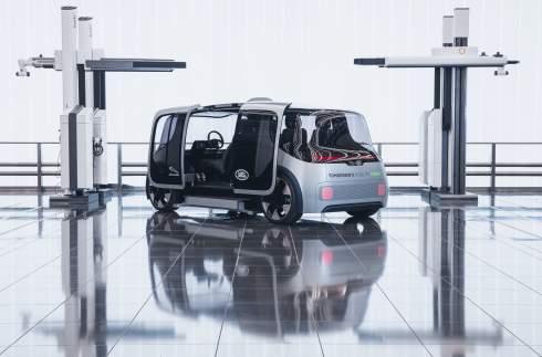 Концерн Jaguar Land Rover представил беспилотную платформу Project Vector