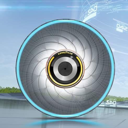Покрышки Goodyear reCharge смогут наращивать новый протектор