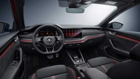 Новая Skoda Octavia RS перестала быть секретом