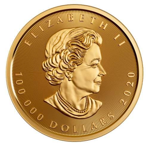 Монетный двор Канады представил самую большую золотую монету в мире