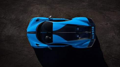 Bugatti показала «самый спортивный» Chiron