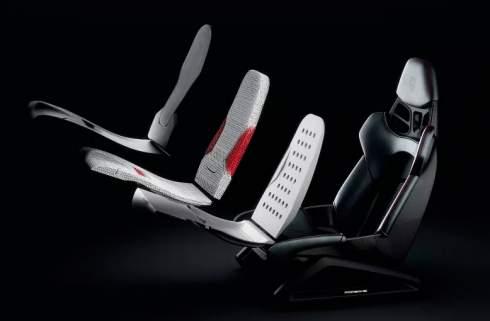 Porsche будет печатать спортивные сиденья на 3D-принтере