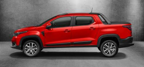 Fiat представил компактный пикап Strada нового поколения