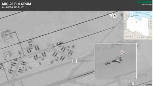 США обвиняют Россию в переброске истребителей в Ливию