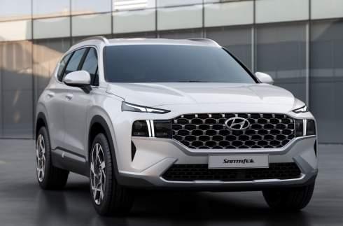 Hyundai Santa Fe получил новый дизайн