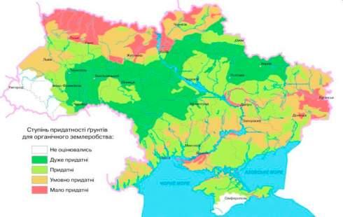 Ученые исследовали в каких областях Украины почва больше всего подходит для органического земледелия