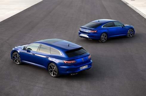 Обновленный Volkswagen Arteon: два типа кузова, R-версия и инновации в салоне