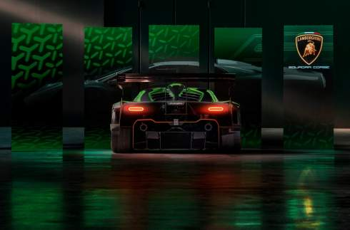 Lamborghini показала 830-сильный гиперкар Essenza SCV12