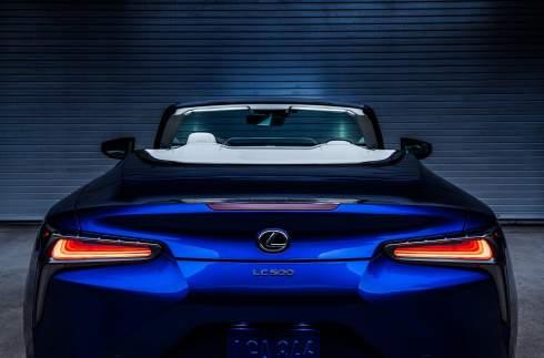 Спецверсию кабриолета Lexus LC посвятили морским путешествиям