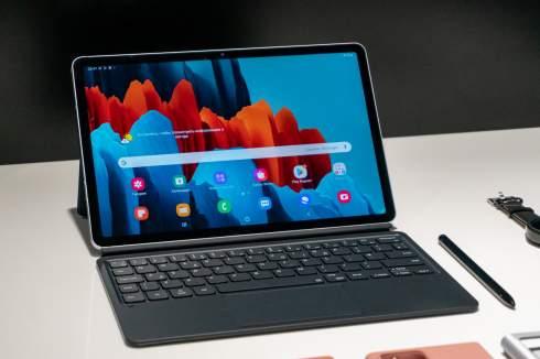 Первые в мире планшеты на Snapdragon 865+ и с экранами 120 Гц. Представлены Galaxy Tab S7 и Galaxy Tab S7+