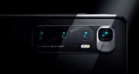 Представлен юбилейный смартфон Xiaomi Mi 10 Ultra с 16 Гбайт памяти, 120-Вт зарядкой и 120-кратным зумом. Цены — от $760