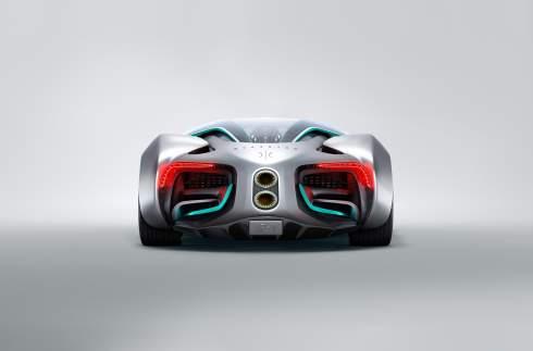 Водородный суперкар Hyperion XP-1: 98-дюймовый дисплей и запас хода больше 1600 километров