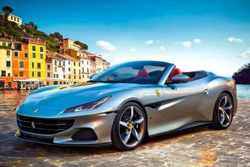 Кабриолет Ferrari Portofino обновился и стал мощнее