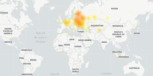 В Telegram произошёл второй за неделю глобальный сбой: сильнее всего пострадали Россия, Беларусь и Украина