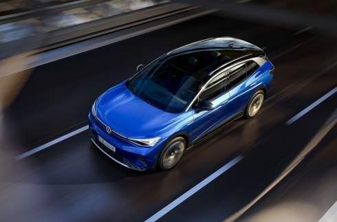 520 километров на одной зарядке: представлен Volkswagen ID.4