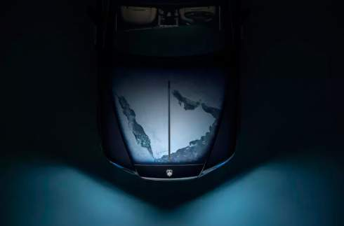 Особую версию Rolls-Royce Wraith посвятили Солнечной системе