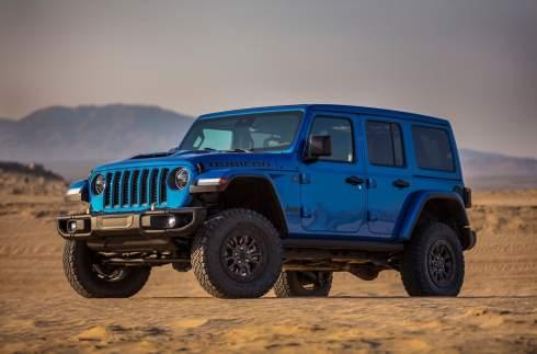 Jeep Wrangler впервые в истории получил двигатель V8