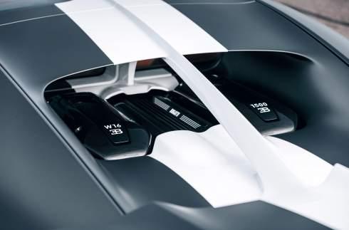 Bugatti представила «авиационный» Chiron Sport